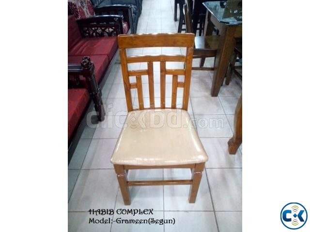 New Year offer On Grameen Dining 6 Chair | ClickBD large image 2