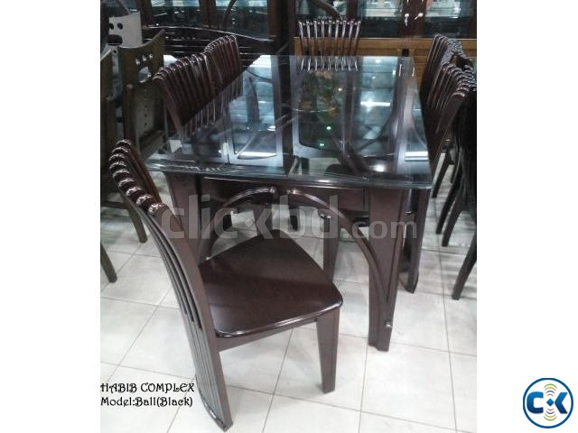 New Year offer On Ball Black Dining 6 Chair | ClickBD large image 2