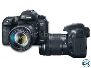 Canon EOS 7D Mark-II SLR Digital Camera Body with lens