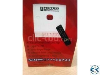 Remote System fan light switch device