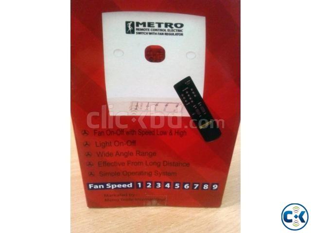 Remote System fan light switch device | ClickBD large image 0