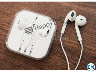 HappyShopBD Apple Ear-pods with Remote and Mic