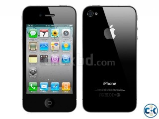 Apple iPHONE 4, 16GB Black color