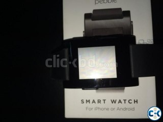 Pebble Smart Watch Apple Android Supported