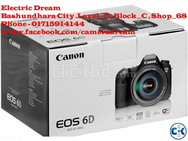 Canon EOS 6D Body | ClickBD large image 1
