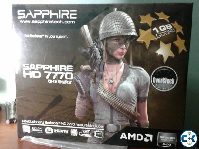 Graphics Card Sapphire HD 7770 1GB DDR5 over clock edition | ClickBD large image 0