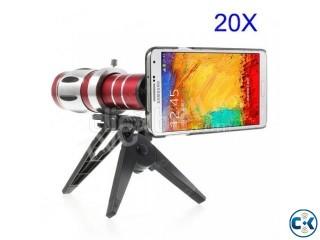 Samsung Galaxy Note 3 N9005 20x Zoom Metal Telephoto Lens Tr