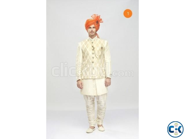 Indo-Western Sherwani For Men | ClickBD large image 0
