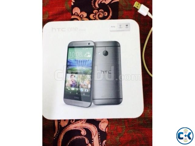 HTC ONE M8 MINI 2 GRAY Fully Boxed | ClickBD large image 0