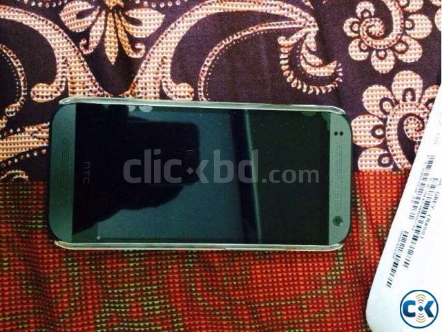 HTC ONE M8 MINI 2 GRAY Fully Boxed | ClickBD large image 1
