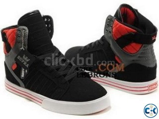 Stylish Black Color Supra Muska Casual Shoe