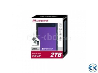 Transcend StoreJet 25H3 USB 3.0 2TB Portable Hard Disk