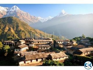 3 nights 4 days at Kathmandu 11600 Taka Per person