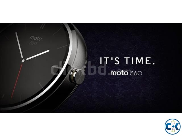Brand New Motorola Moto 360 Smart Watch Sealed Pack 1yr Wty | ClickBD large image 1