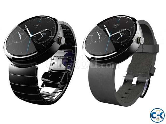 Brand New Motorola Moto 360 Smart Watch Sealed Pack 1yr Wty | ClickBD large image 2