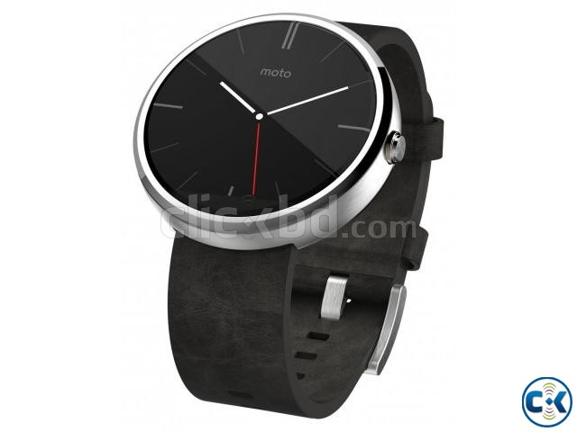 Brand New Motorola Moto 360 Smart Watch Sealed Pack 1yr Wty | ClickBD large image 3