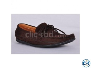 Stylish Brown Color Men s Fashion Loafer