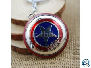 Captain America Key Ring