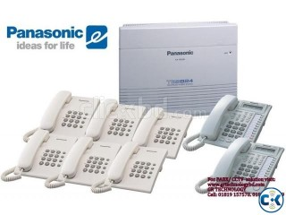 Panasonic PABX Intercom Pakage With Installations