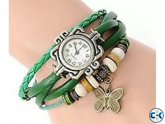 Green Bracelet Watch | ClickBD large image 0