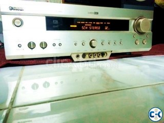YAMAHA 6.1 DTS AV AMPLIFIER .