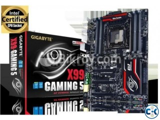 X99 Gaming 5 Gigabyte Motherboard Intact Boxed.