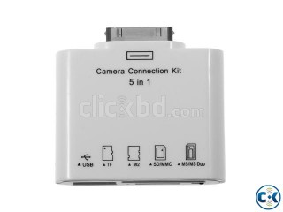 5 in1 Camera Connection Kit iPad 1 2 SS