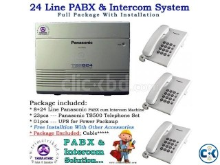 24 Port Panasonic PABX Total Package
