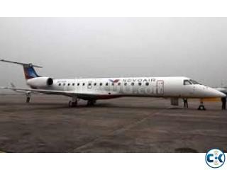 Cox's Bazar-Dhaka air fare of NOVO AIR