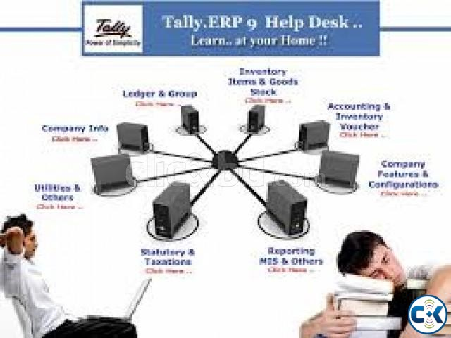 Accounting Software Tally ERP9 | ClickBD large image 0