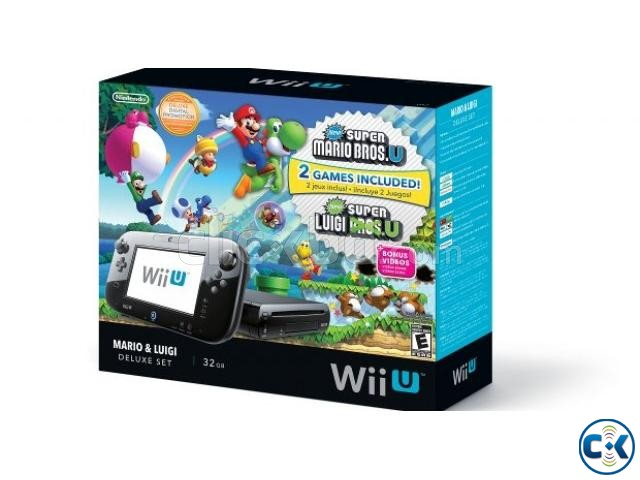 Wii U 32GB Console Lowest Price brend New home delivery ser. | ClickBD large image 1