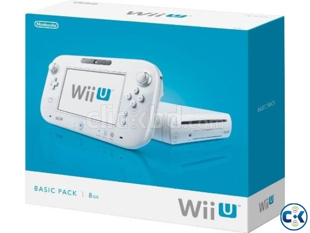 Wii U 32GB Console Lowest Price brend New home delivery ser. | ClickBD large image 3