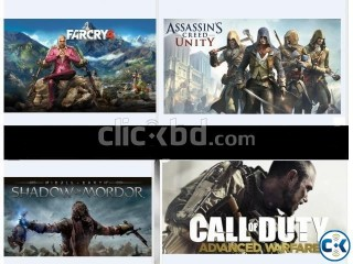 All Latest PC Games per 4 GB 20 TK 100 working DHANMONDI