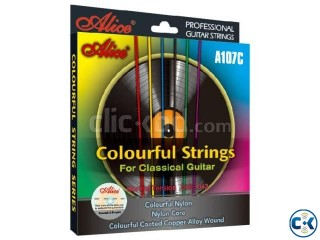 Classical Guitar Colourful String