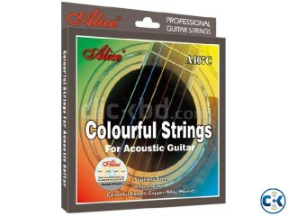 Acoustic Colourful Guitar String