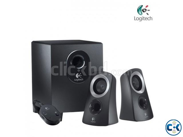 logitech speaker system z313 2 1 clickbd. Black Bedroom Furniture Sets. Home Design Ideas