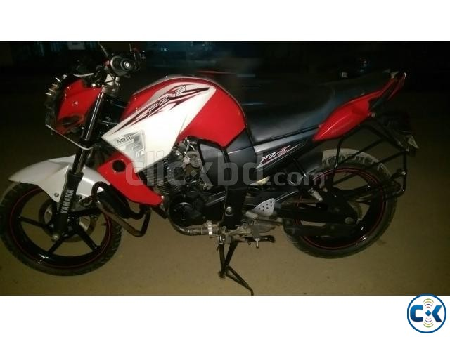 FZS 153cc Duel Pickup red n white ontest urgent | ClickBD large image 0
