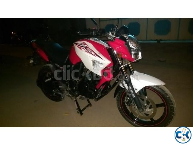 FZS 153cc Duel Pickup red n white ontest urgent | ClickBD large image 1