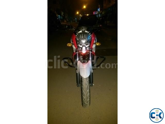 FZS 153cc Duel Pickup red n white ontest urgent | ClickBD large image 2