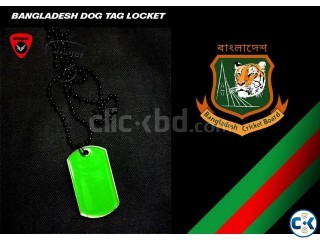 Bangladesh Dog Tag Locket