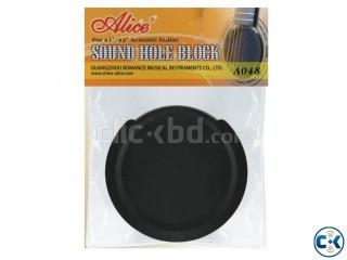 Acoustic Guitar Sound Hole Block