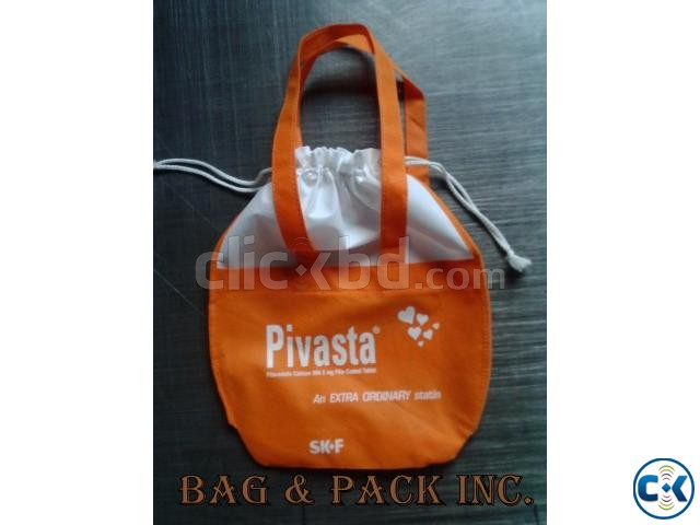 Jute non woven bags | ClickBD large image 0