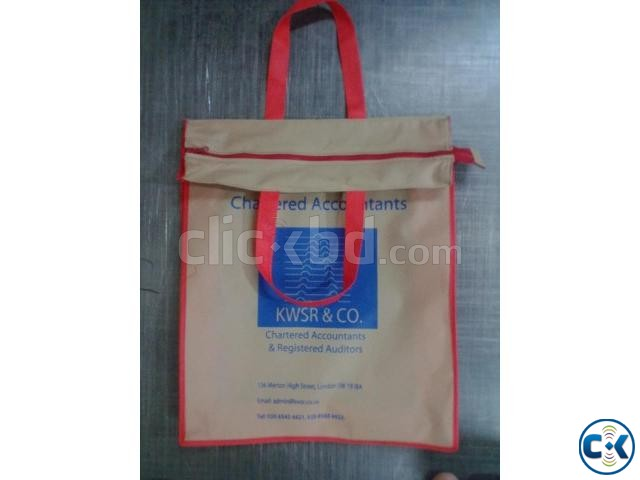 Jute non woven bags | ClickBD large image 1