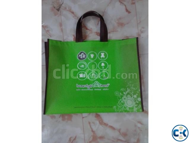 Jute non woven bags | ClickBD large image 2