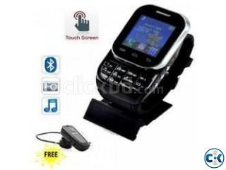 STYLISH HI-TECH W2 MOBILE WATCH PHONE