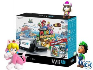 Wii U 32GB Console Lowest Price brend New home delivery ser.