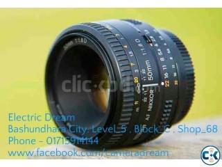 NIKON 50mm f 1.8 af-s dx nikkor lens
