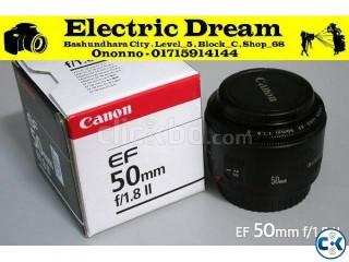 CANON 50mm f 1.8 2 Lens . ELECTRIC DREAM