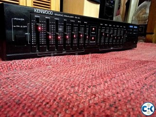 KENWOOD 14 BAND STERIO EQUILIZER RED LED.