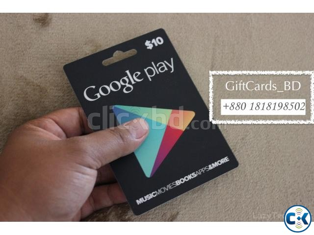 google play gift card | ClickBD
